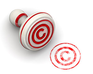 copyright rubberstamp