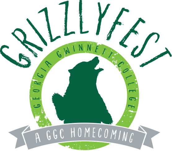 logo for Grizzlyfest – A GGC Homecoming