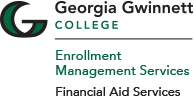 GGC financial aid logo