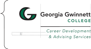 spacing requirements for GGC vertical logo