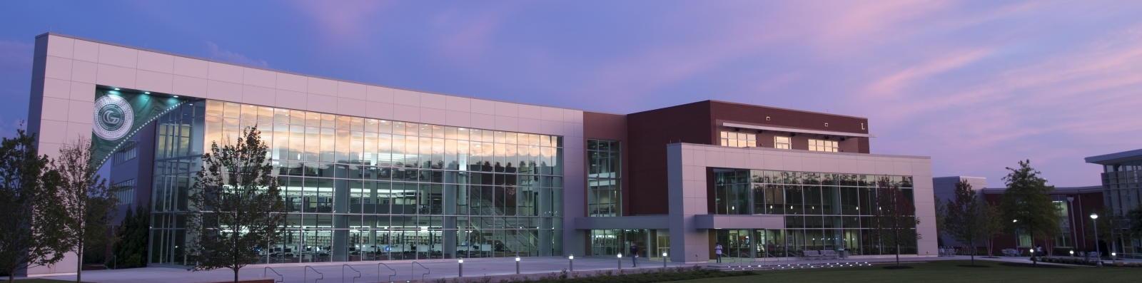 GGC library at sunset