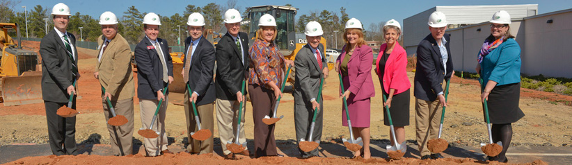 AHS Building Groundbreaking