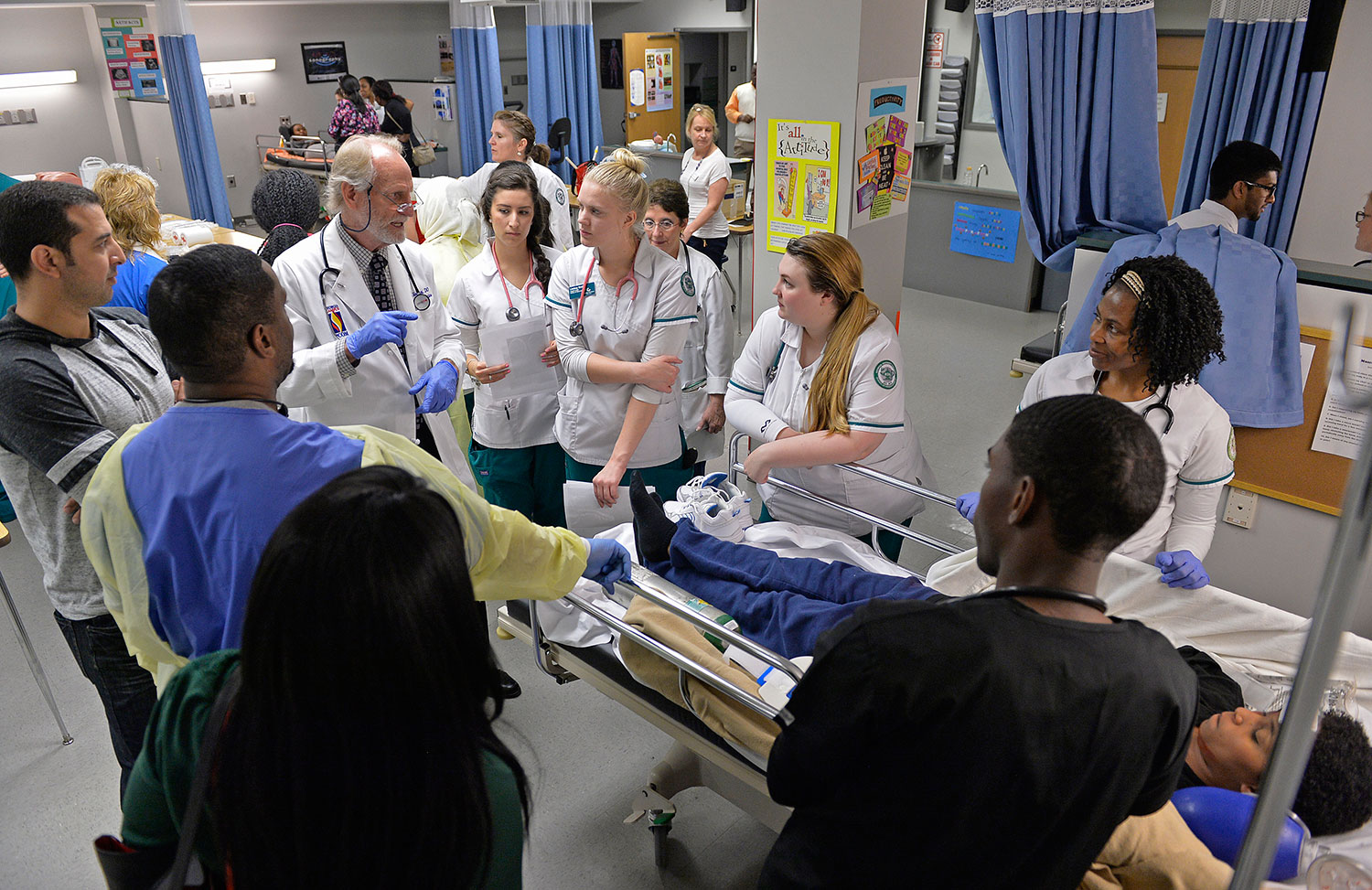 Ggc And Gwinnett Technical College Host Joint Hospital Simulation Day
