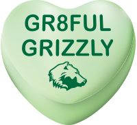 GGC grateful grizzlies logo