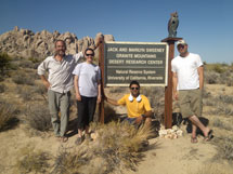 Mojave Research Trip with Dr. James Russell